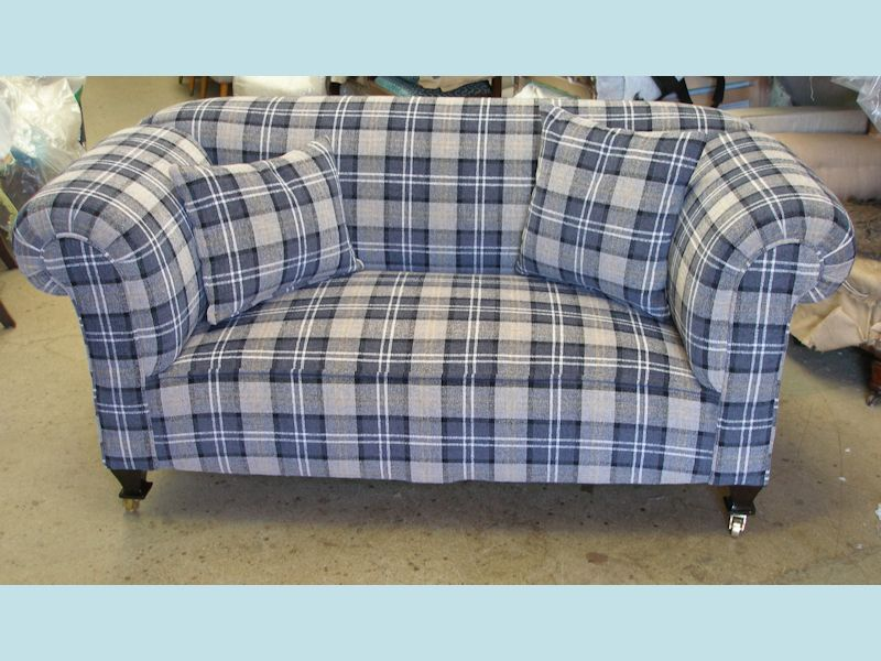 Edwardian 1930s Double Drop Arm 2str Chesterfield Sofa Sold Njh