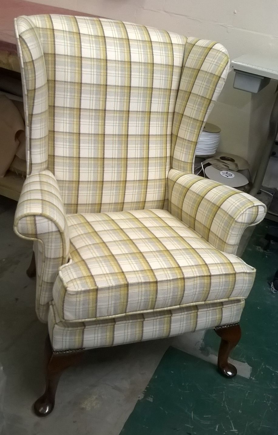 Parker Knoll winged armchair – SOLD | NJH Upholstery Bristol